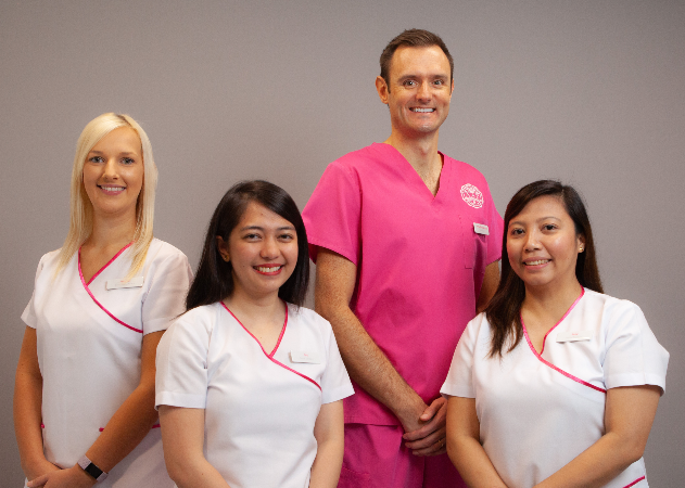 the perio clinic team